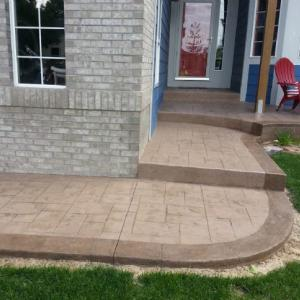 Slice It Landscaping Service - Concrete: Steps, Pathways