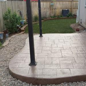 Slice It Landscaping Service - Concrete: Stamped